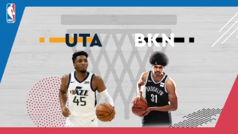 NBA / Utah Jazz - Brooklyn Nets