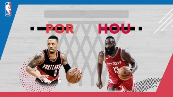 NBA / Portland Trail Blazers - Houston Rockets
