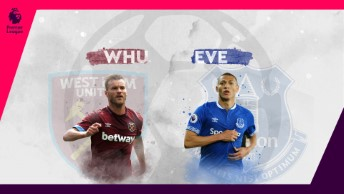 Premier League - 23. Hafta / West Ham - Everton