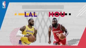 NBA / LA Lakers - Houston Rockets