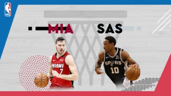 NBA / Miami Heat - San Antonio Spurs