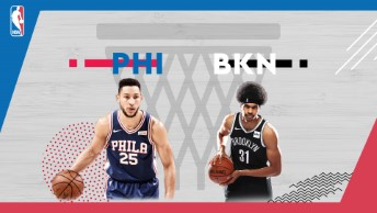 NBA / Philadelphia 76ers - Brooklyn Nets