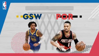 NBA / Golden State Warriors - Portland Trail Blazers