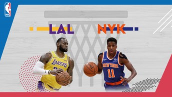 NBA / LA Lakers - New York Knicks