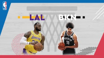 NBA / LA Lakers - Brooklyn Nets