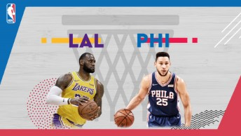NBA / LA Lakers - Philadelphia 76ers